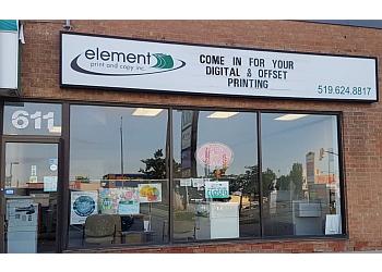 Cambridge printer Element Print and Copy Inc.