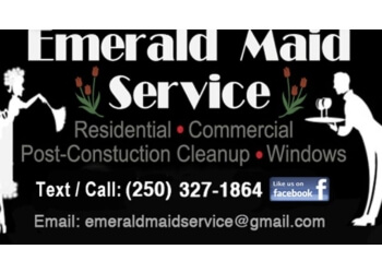Nanaimo house cleaning service Emerald Maid Service