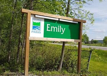 Kawartha Lakes hiking trail Emily Provincial Park Trails