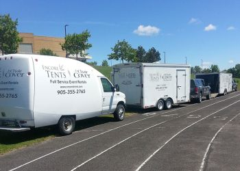 Belleville event rental company Encore Tents