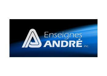 Drummondville sign company Enseigne André Inc.