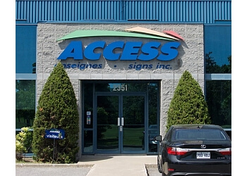 Longueuil sign company Enseignes Access Inc.