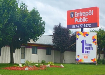 Gatineau storage unit Entrepot Public