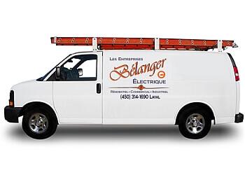 Laval electrician Entreprises Bélanger Électrique
