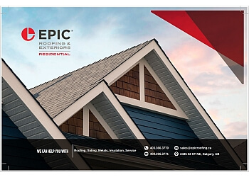 Calgary roofing contractor Epic Roofing & Exteriors