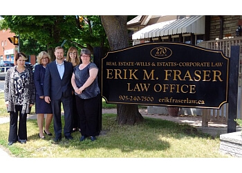 Oshawa estate planning lawyer Erik M. Fraser Law Office