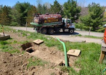 Belleville septic tank service Eugene Craig's Septic Service