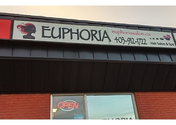 Airdrie hair salon Euphoria Salon & Spa
