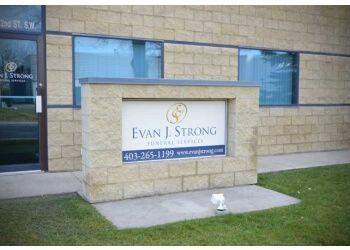 Calgary funeral home Evan J. Strong Funeral Services