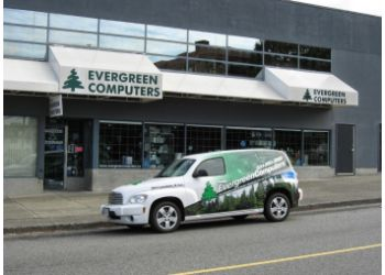 North Vancouver computer repair Evergreen Computers