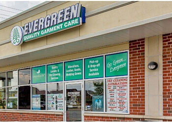 Markham dry cleaner Evergreen Quality Garment Care