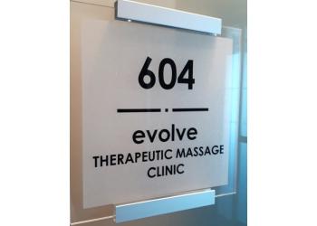 Richmond massage therapy Evolve Therapeutic Massage Inc.
