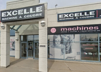 Laval sewing machine store Excelle Machine A Coudre