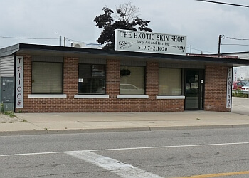 Kitchener tattoo shop THE EXOTIC SKIN SHOP