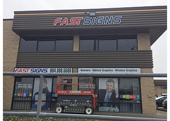 Langley sign company FASTSIGNS