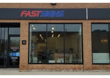 Toronto sign company FASTSIGNS