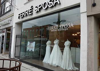 Toronto bridal shop FERRE SPOSA BRIDAL BOUTIQUE