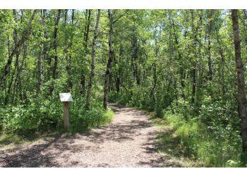 Winnipeg hiking trail FORTWHYTE ALIVE