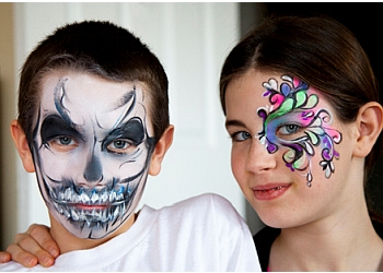 Newmarket face painting Face Art
