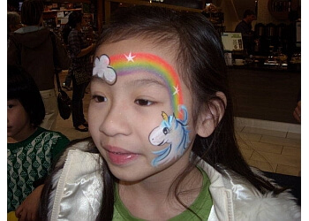 Port Coquitlam face painting Faceaballoonza!