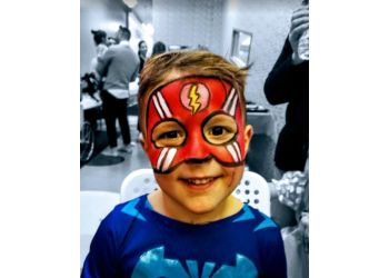 Toronto face painting Faceloon