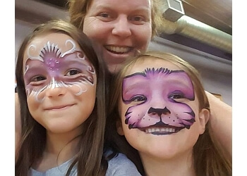 Kitchener face painting Face the Art Entertainment
