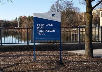 Newmarket hiking trail Fairy Lake Park Trail
