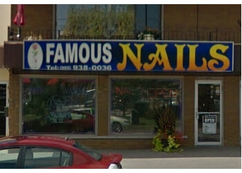 St Catharines nail salon Famous Nails