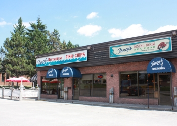 Barrie fish and chip Fancy's Fish & Chips Seafood Restaurant