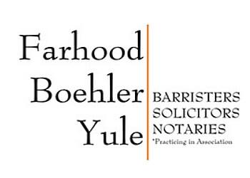 Waterloo estate planning lawyer Farhood Boehler Yule