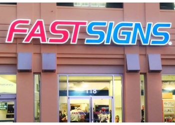 Surrey sign company FASTSIGNS
