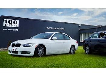 Toronto used car dealership Favorit Motors