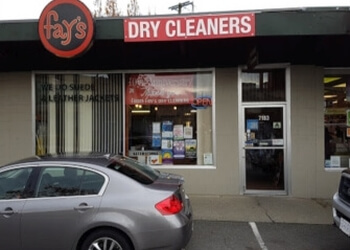 Saanich dry cleaner Fay's Brentwood One Hour Cleaners Ltd.