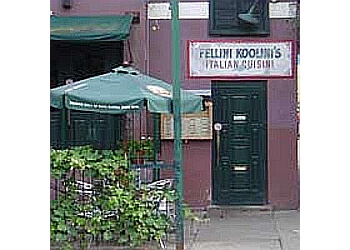 London italian restaurant Fellini Koolini's