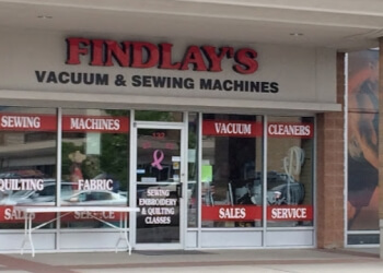 Kelowna sewing machine store Findlay's Vacuum & Sewing Machines Ltd.