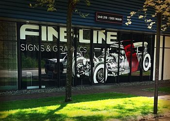 North Vancouver sign company Fine-Line Signs