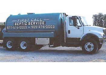 Newmarket septic tank service First Call Septic Service
