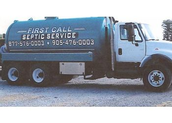 Vaughan septic tank service First Call Septic Service