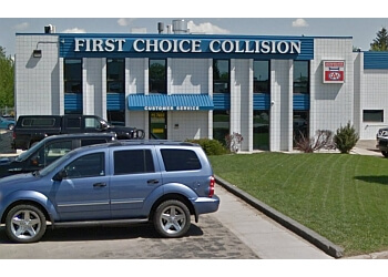 Red Deer auto body shop First Choice Collision