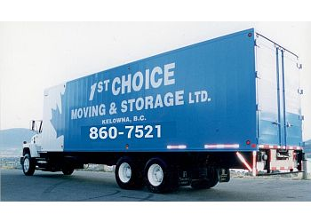 First Choice Moving & Stge Ltd Kelowna Moving Companies
