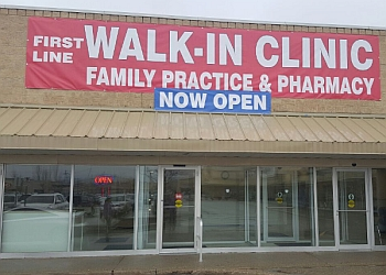 Cambridge urgent care clinic Firstline Walk-in clinic Family Practice & Pharmacy