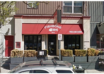 Stouffville seafood restaurant Fishbone Bistro
