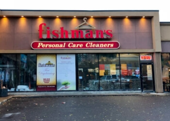 Calgary dry cleaner Fishman's Personal Care Cleaners