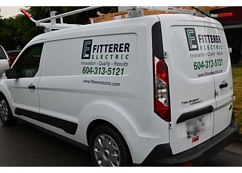 Burnaby electrician Fitterer Electric Ltd.