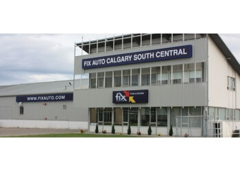 Calgary auto body shop Fix Auto Calgary South Central