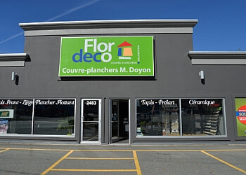 Sherbrooke flooring company Flordeco - Couvre-Planchers M.Doyon