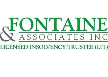 Sudbury licensed insolvency trustee Fontaine & Associates Inc.