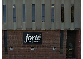 Moncton personal injury lawyer Forté Law Droit