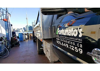 Pickering landscaping company Fortunato's General Contracting & Landscaping