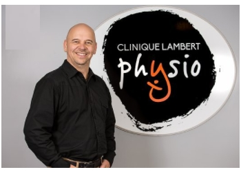 Saguenay physical therapist François Lambert, PT
